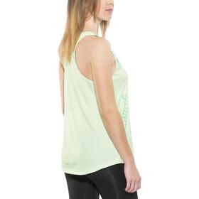 adidas Response Camiseta sin mangas running Mujer, aero green